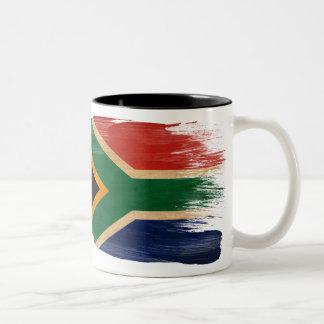 Taza de la bandera de Suráfrica