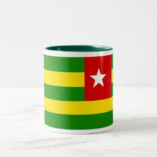 Taza de la bandera de Togo