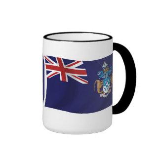 Taza de la bandera de Tristan DA Cunha