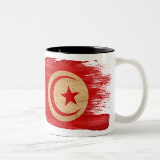 Taza de la bandera de Túnez
