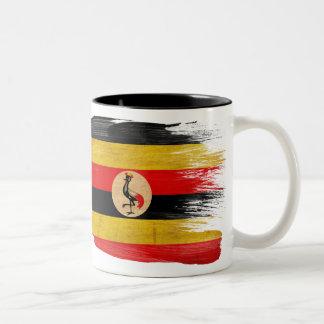 Taza de la bandera de Uganda