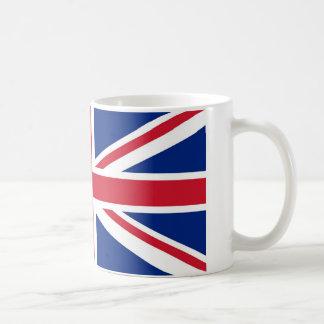 Taza de la bandera de Union Jack