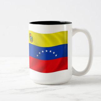 Taza de la bandera de Venezuela
