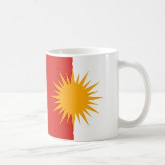 Taza de la bandera de Yezidi