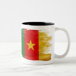Taza de la bandera del Camerún