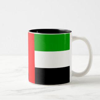 Taza de la bandera del emirato de árabe unido