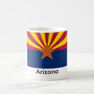 Taza de la bandera del estado de Arizona