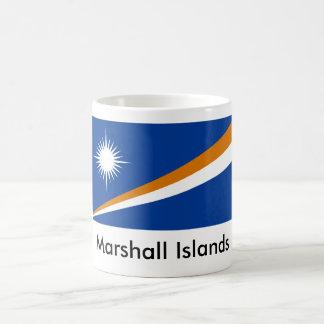 Taza de la bandera del estado de Marshall Islands