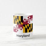 Taza de la bandera del estado de Maryland
