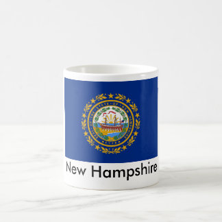 Taza de la bandera del estado de New Hampshire