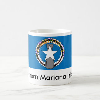 Taza de la bandera del estado de Northern Mariana