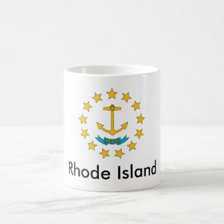 Taza de la bandera del estado de Rhode Island