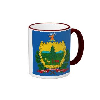 Taza de la bandera del estado de Vermont