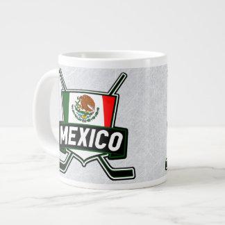 Taza de la bandera del hockey sobre hielo de Méxic Taza Jumbo
