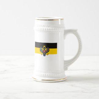 Taza de la bandera del imperio ruso