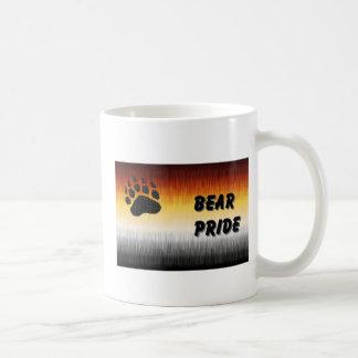 Taza de la bandera del orgullo del oso