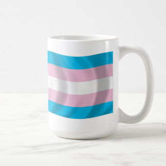 Taza de la bandera del orgullo del transexual