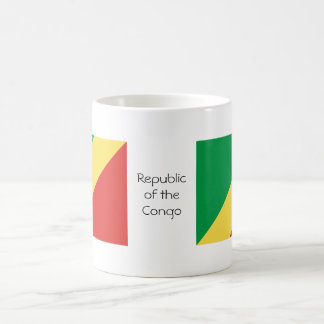 Taza de la bandera del República del Congo