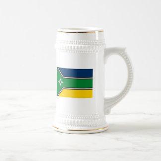 Taza de la bandera del territorio de Amapa