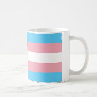 Taza de la bandera del transexual
