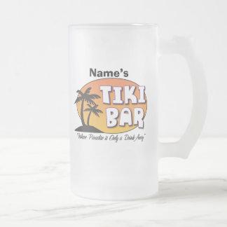 Taza de la barra de Tiki