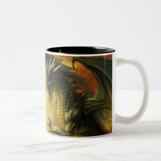 Taza de la batalla del dragón