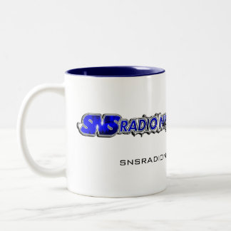 Taza de la bebida de SNS 11oz (tono dos)