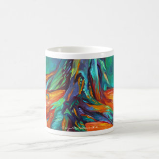 Taza de la bella arte