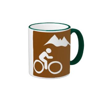 Taza de la bici de montaña