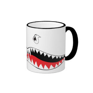 Taza de la boca del tiburón