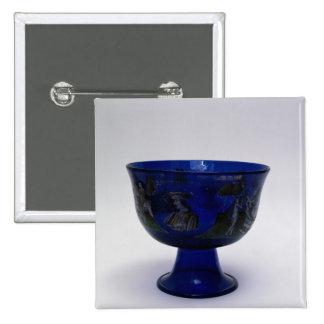 Taza de la boda de Barovier Cup', con pintado Pin Cuadrado