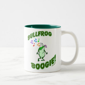 Taza de la boogie de la rana mugidora