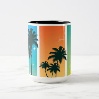 Taza de la brisa de la isla de la palmera