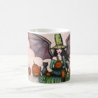 Taza de la bruja de Halloween
