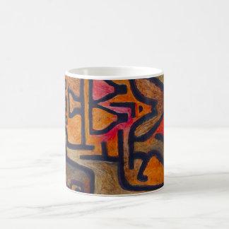 Taza de la bruja del bosque de Paul Klee