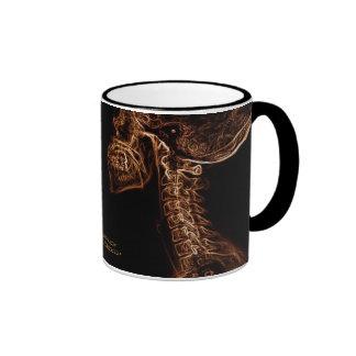 Taza de la C-espina dorsal de Brown/del oro (image