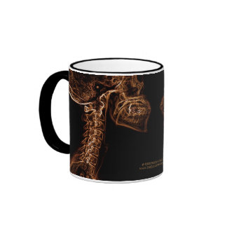 Taza de la C-espina dorsal del oro de Brown