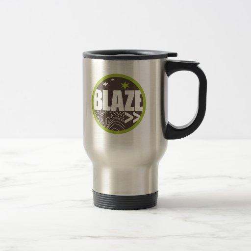 Taza de la cabeza de rastro de BLAZE>>