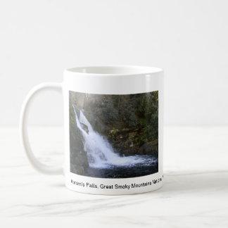 Taza de la caída del agua