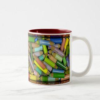 Taza de la caja de lápiz de Kim Kublank
