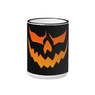 Taza de la calabaza de Halloween