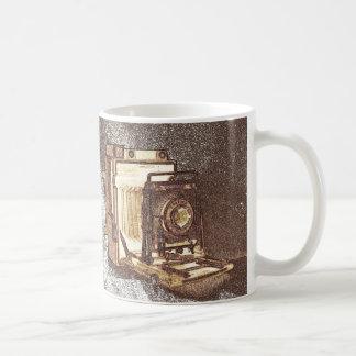Taza de la cámara de la prensa del vintage