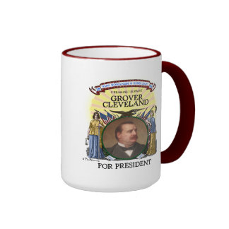 Taza de la campaña de Grover Cleveland 1884