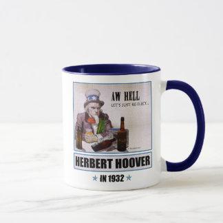 Taza de la campaña de Herbert Hoover 1932