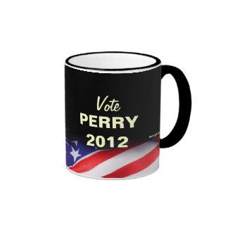 Taza de la campaña de PERRY 2012 del voto