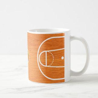 Taza de la cancha de básquet - regalo único de