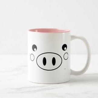 Taza de la cara del cerdo