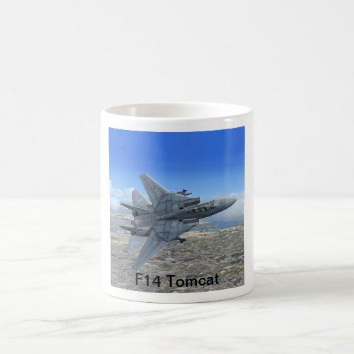 Taza de la caza a reacción de F14 Tomcat