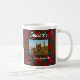 Taza de la cerveza inglesa de Sinclair Girnigoe