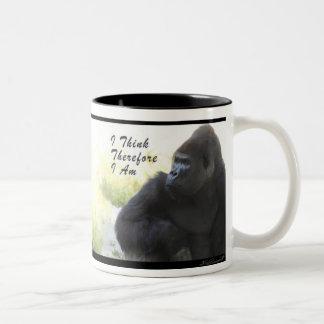 Taza de la charla del gorila